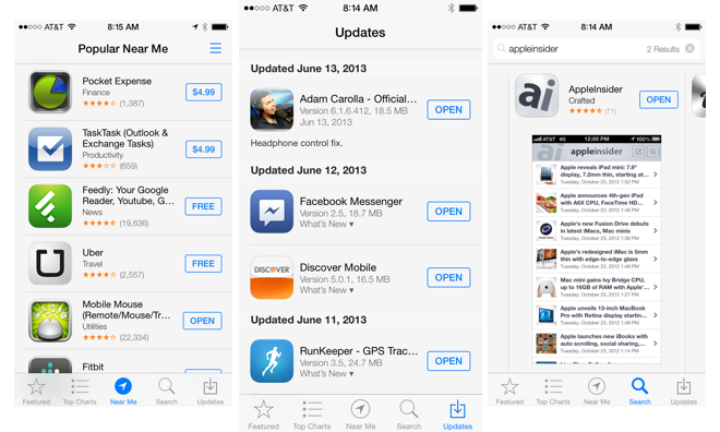 how to manually update an app on ipad