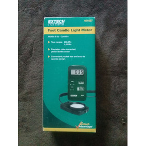extech foot candle lux meter manual