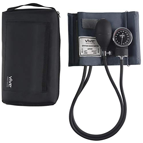 how to read a manual blood pressure gauge