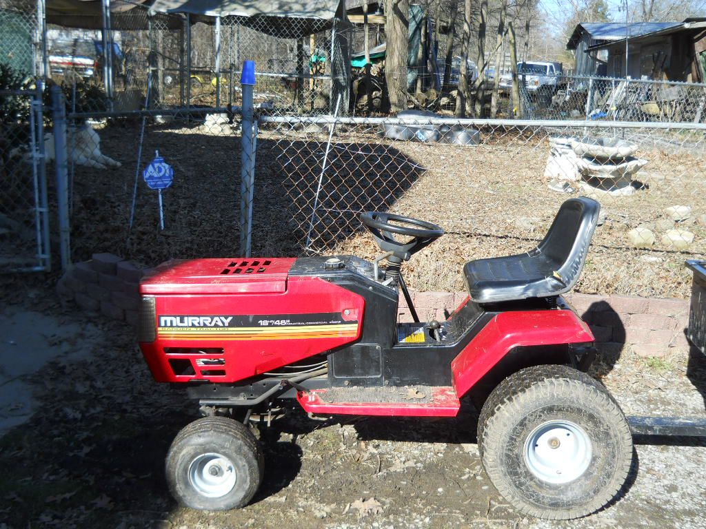 murray lawn tractor parts manual