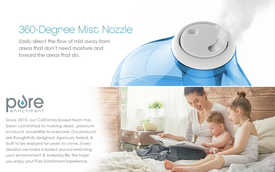mistaire ultrasonic cool mist humidifier manual