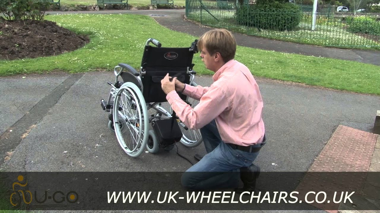 power add on for manual wheelchair