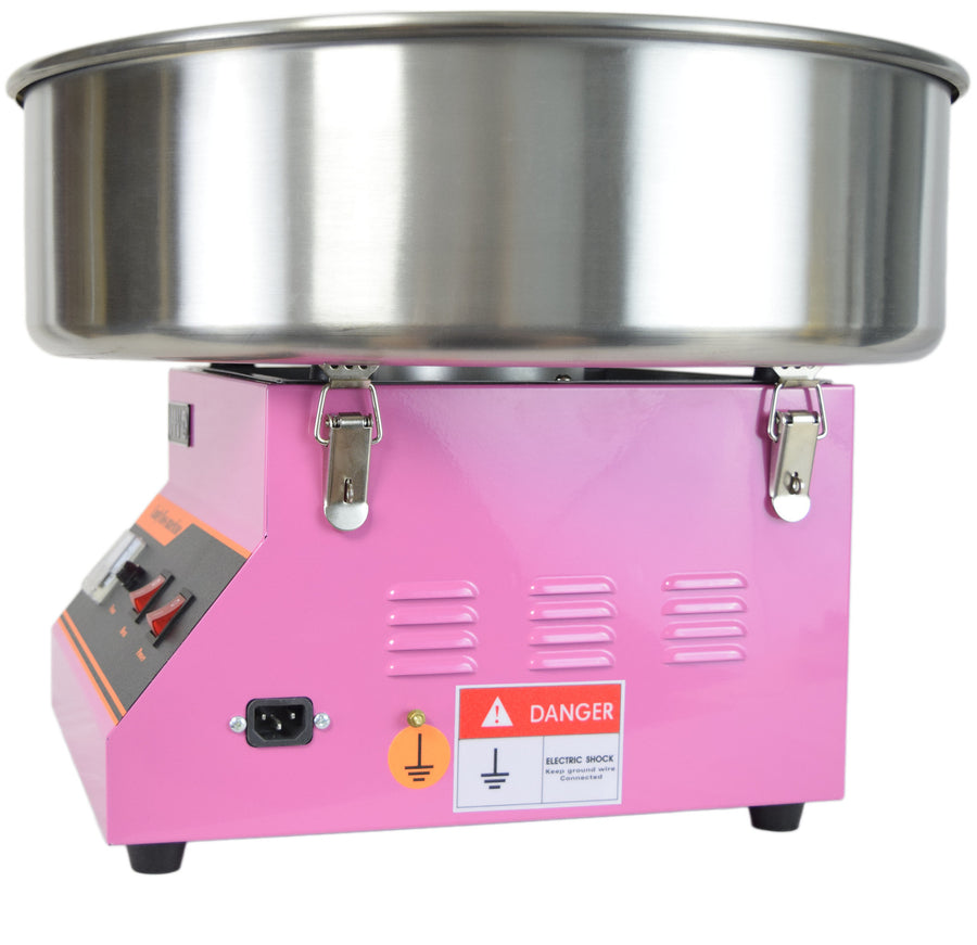 the real cotton candy machine manual